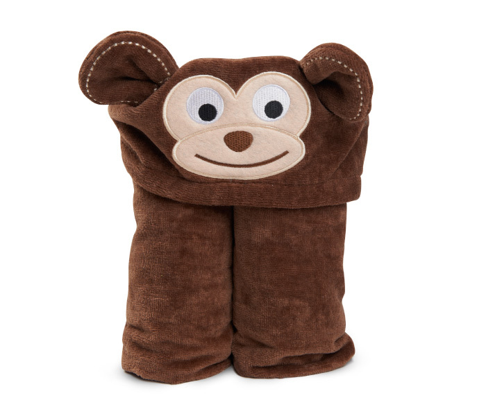 Kiddie Towels (Chocolate Monkey) image