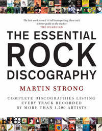 The Essential Rock Discography: v. 1 by Martin C Strong image