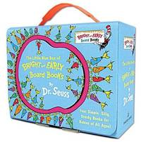 The Little Blue Box of Bright and Early Board Books by Dr. Seuss (4 Books) by Dr Seuss image