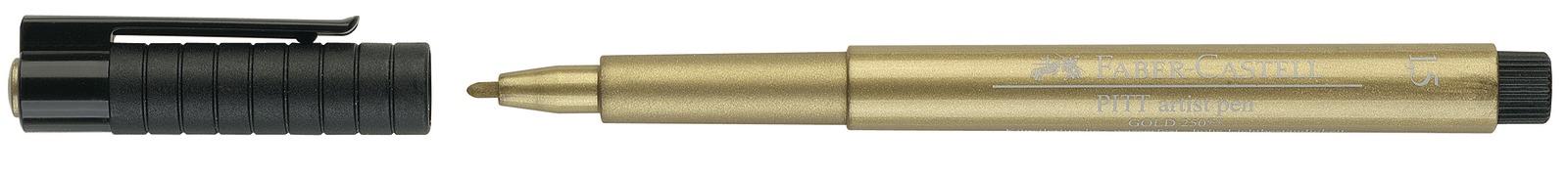 Faber-Castell: Pitt Artist Pens - Metallic Gold image