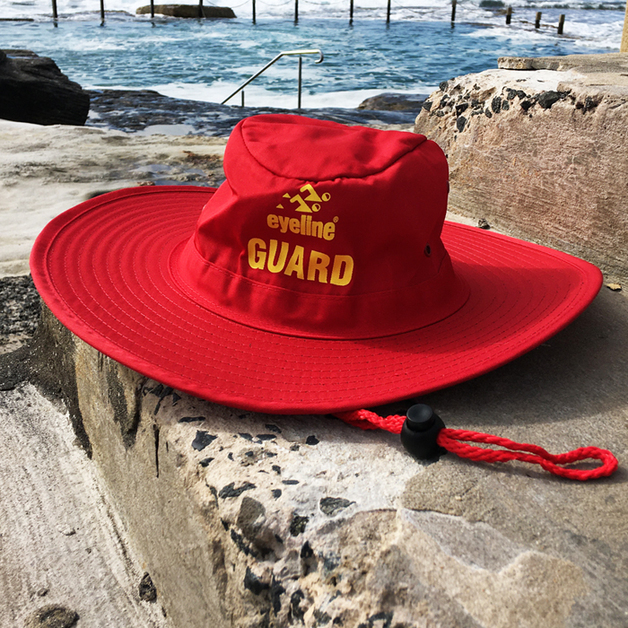 Eyeline Lifeguard Hat - Red (XL)