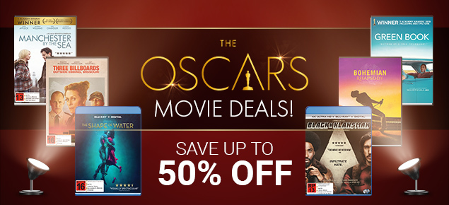 Oscar Movie Deals! Save up to 50% off!