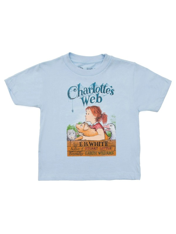Out of Print: Charlottes Web Childrens Tee - 6/7 yr
