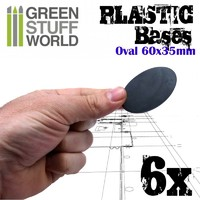 Green Stuff World: Oval Pill Base 60 x 35mm