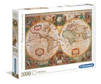 Clementoni: Old Map - 1000pc Puzzle