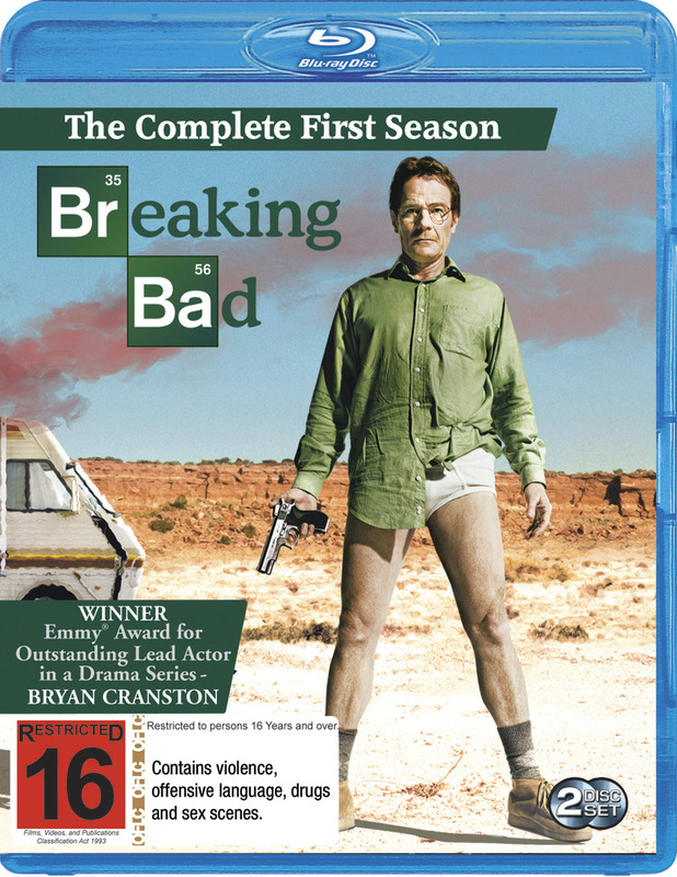 Breaking Bad - The Complete First Season on Blu-ray