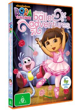 Dora the Explorer : Dora's Ballet Adventure on DVD