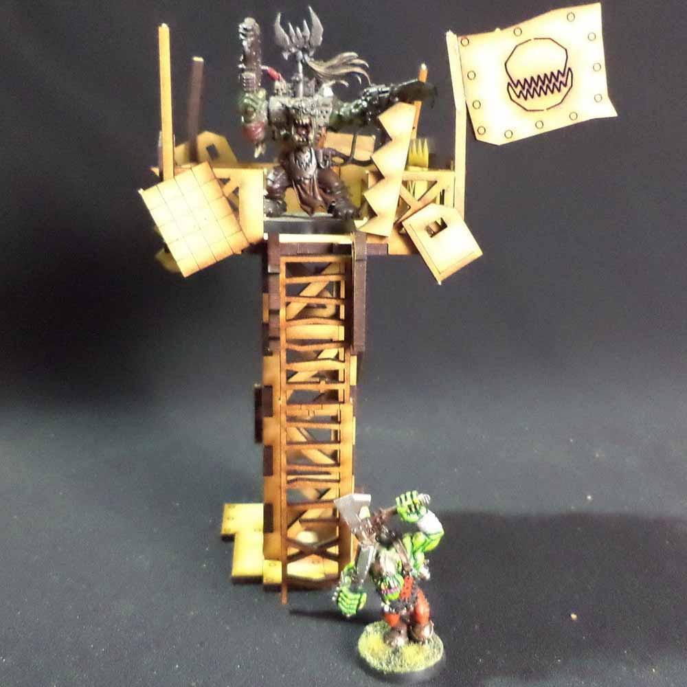 TTCombat: Tabletop Scenics - Orc Watchtower image