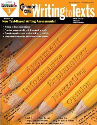 Common Core Practice Writing Grade 3 image