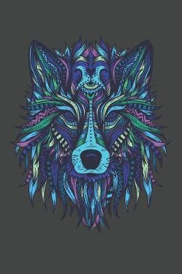 Wolf Head Mandala by Playful Press