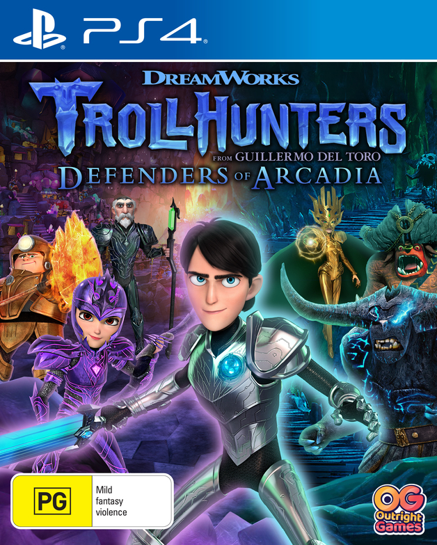 Trollhunters Defenders of Arcadia for PS4