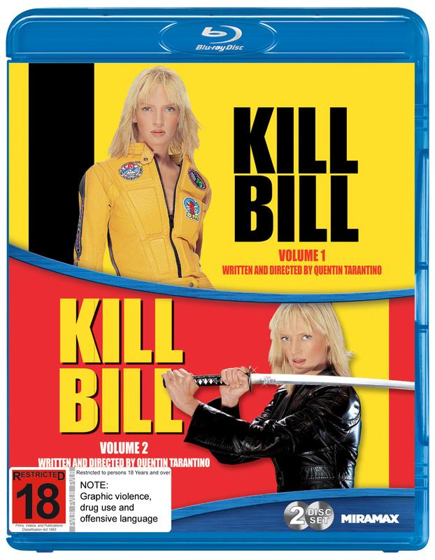 Kill Bill: Volume 1 / Volume 2 on Blu-ray