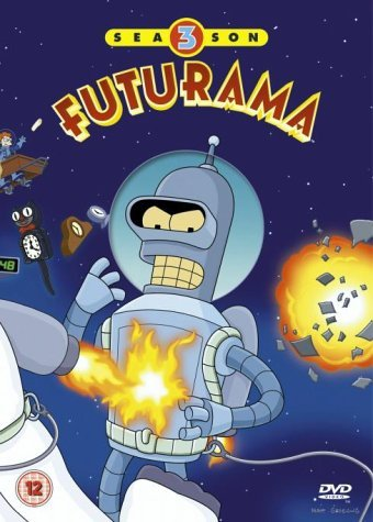 Futurama - Season 3 Box Set (4 Disc) on DVD