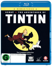 The Adventures of Tintin - Remastered on Blu-ray