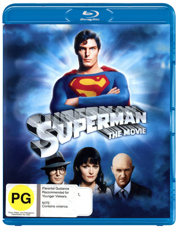 Superman - The Movie on Blu-ray