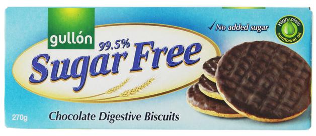Gullon Sugar-Free Chocolate Digestive Biscuits