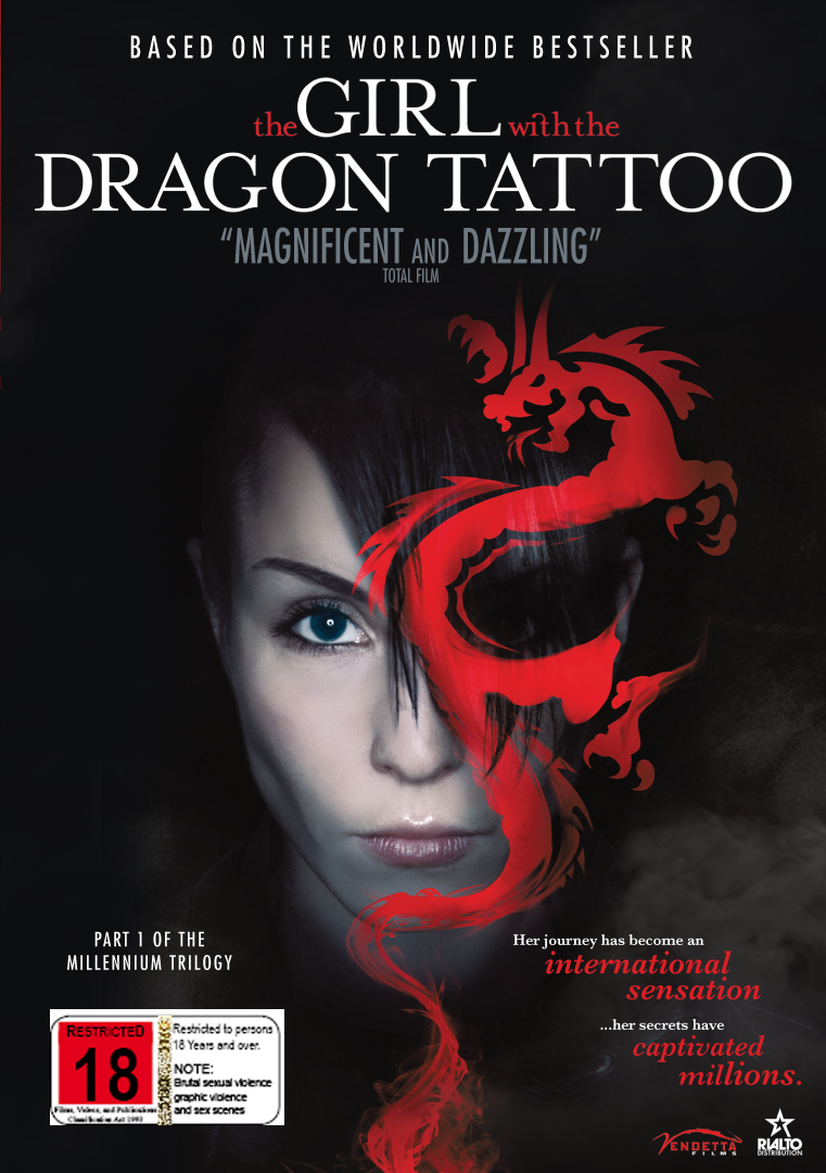 The girl with the dragon tattoo dvd on sale now at for Girl with dragon tattoo books in order