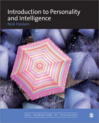 Introduction to Personality and Intelligence by Nick Haslam