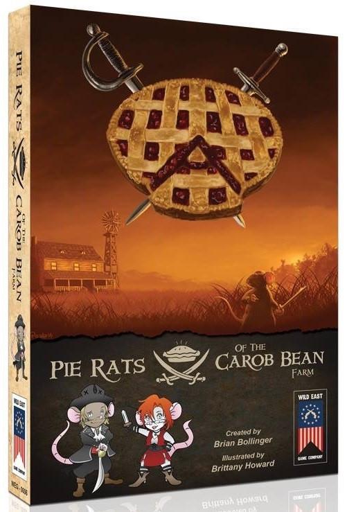 Pie Rats of the Carob Bean Farm - Card Game