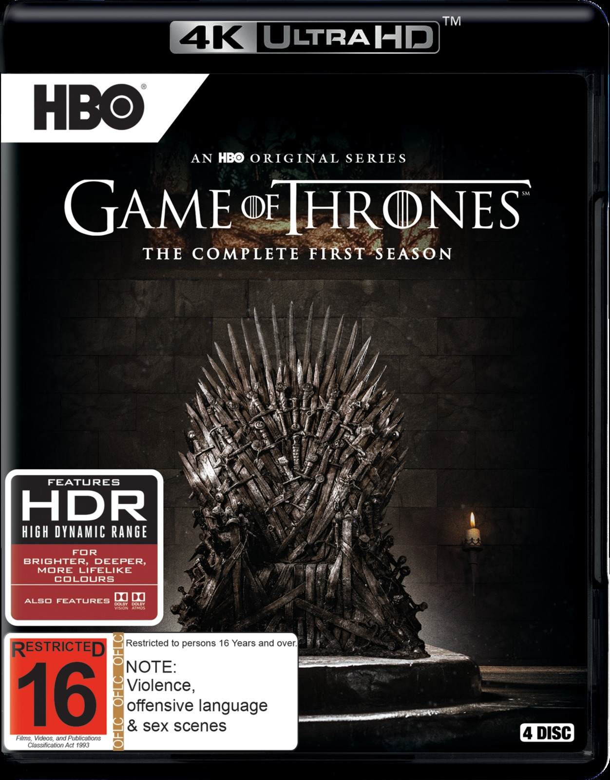 Game of Thrones - The Complete First Season on UHD Blu-ray image
