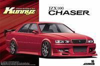 Aoshima 1/24 Kunny'z JZX100 Chaser Tourer V '98 (Toyota) - Scale Model