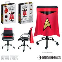 Star Trek: The Original Series Operations Red Uniform Chair Cape
