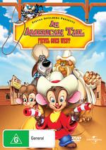American Tale 2 Fievel Goes West on DVD
