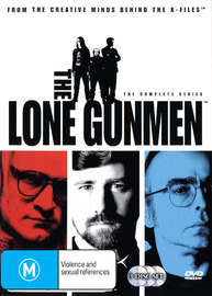 The Lone Gunmen - The Complete Series (3 Disc) on DVD image