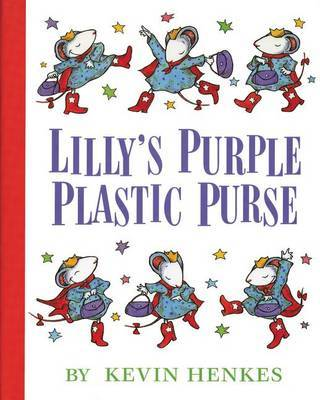 Lillys Purple Plastic Purse by Kevin Henkes image