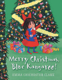 Merry Christmas, Blue Kangaroo by Emma Chichester Clark image