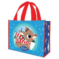 Rudolph Large Recycled Shopper Tote