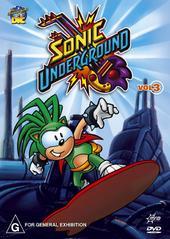 Sonic Underground V3 on DVD