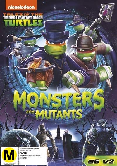 Teenage Mutant Ninja Turtles: Monsters And Mutants on DVD image
