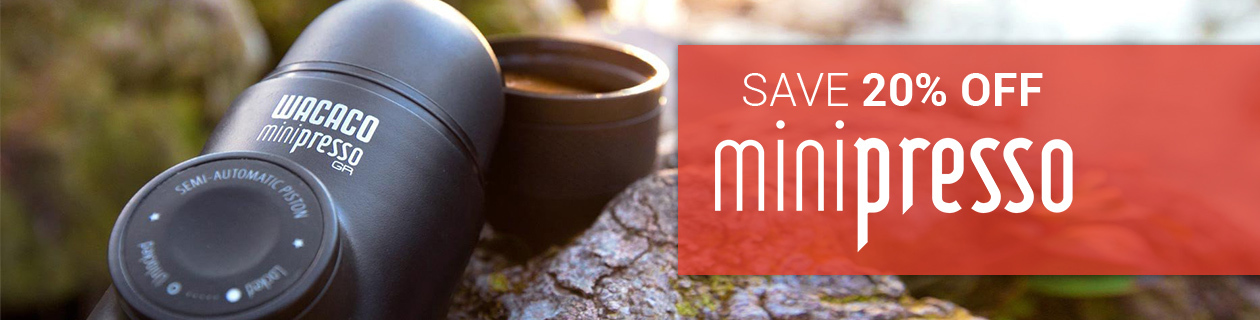 20% off Minipresso Coffee Makers! Category