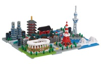 nanoblock: Deluxe Series - Tokyo