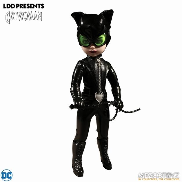 "Living Dead Dolls Presents: DC Universe Catwoman - 10"" Doll"