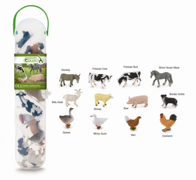 CollectA: Box of Mini - Farm Animals