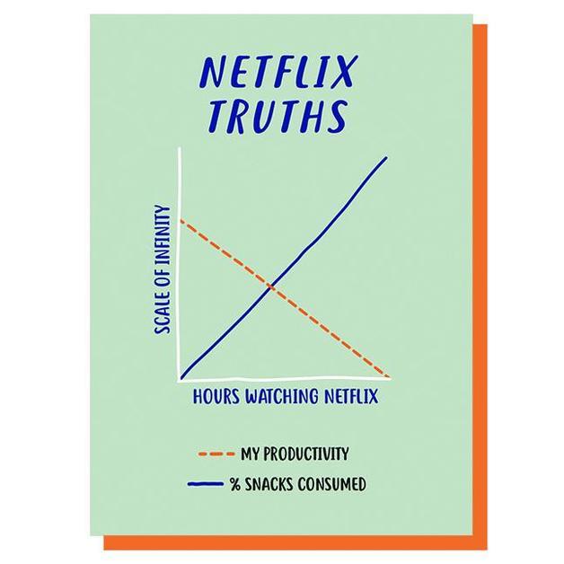 Graph: Netflix Truths Multi-Purpose Card