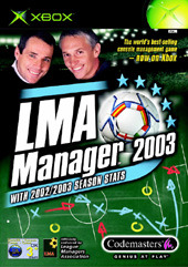 LMA Manager 2003 for Xbox