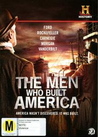 The Men Who Built America on DVD