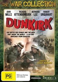 Dunkirk on DVD image