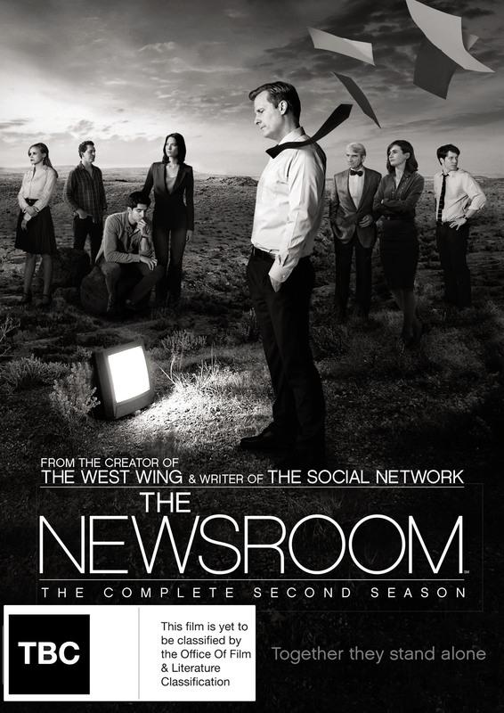 The Newsroom - Season 2 on DVD