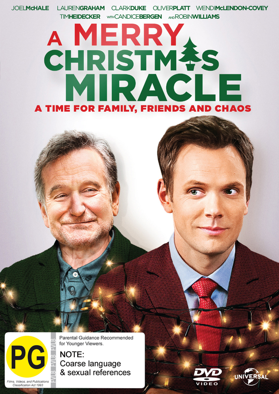 A Merry Christmas Miracle on DVD