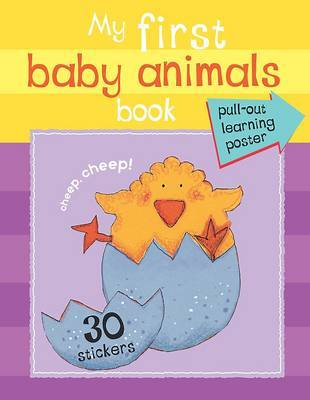My First Baby Animals Book image