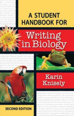 Student Handbook for Writing in Biology by Karin Knisely image