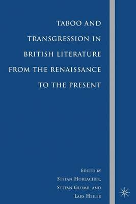 Taboo and Transgression in British Literature from the Renaissance to the Present image