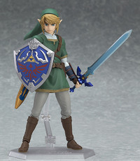 Legend of Zelda: Link (Twilight Princess Ver.) - DX Edition Figma Figure