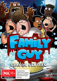 Family Guy: Season 16 (3 Disc Set) on DVD