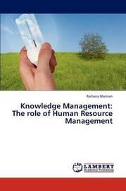 Knowledge Management by Mannan Raihana
