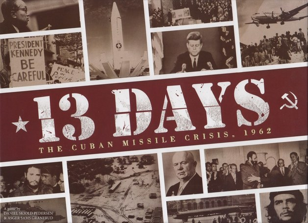 13 Days the Cuban Missile Crisis - Board Game